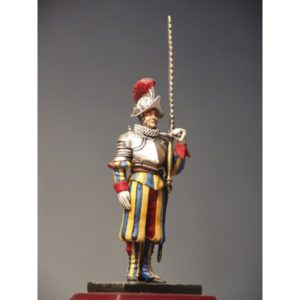 Sergeant with the sword on left