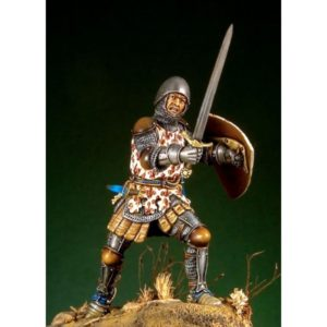 German Knight with Barbuta 1350-70