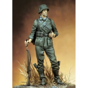 Wehrmachtschütze im Feldanzug, 1939