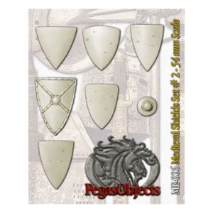 Medieval Shields Set 2