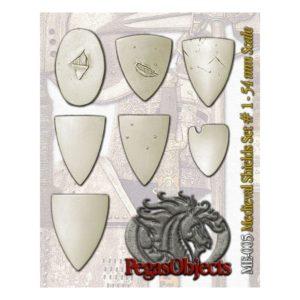 Medieval Shields Set 1