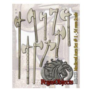 Medieval Axes Set 1