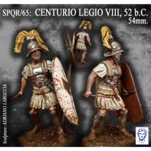 Centurio Legio VIII, 52b.C.