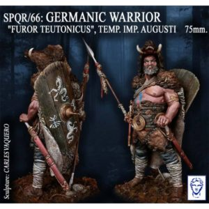 "Germanic Warrior. ""Furor Teutonicus"", Temp. Imp. Augusti"