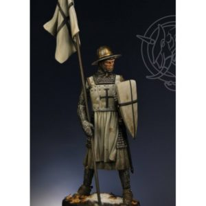 German Knight with banner – 13th century
