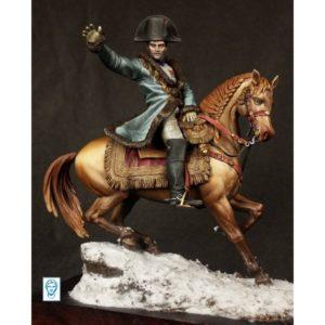 Napoléon sur le champ de bataille d'Eylau, 9 février 1807