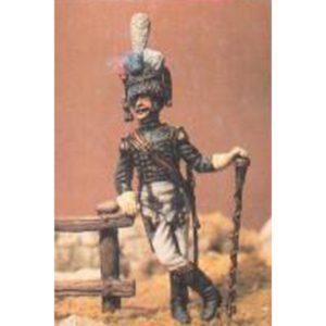 Tambour - Major des Flanqueurs - Grenadiers de la Garde Imperiale. Campagne d'Allemagne. Août 1813