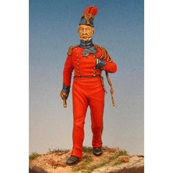 Capitaine Adjudant Major Des Lanciers Rouges, 1813