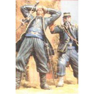 Sous-Lieutenant et Sergent des Chasseurs à pied de la Garde Impériale. Magenta, 4 Juin 1859