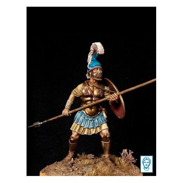 """Sarissaphoroi Pezetairos"", Foot Companion Officer of Macedonian army, 331bC"