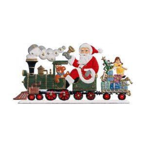 St. Nicholas with locomotive