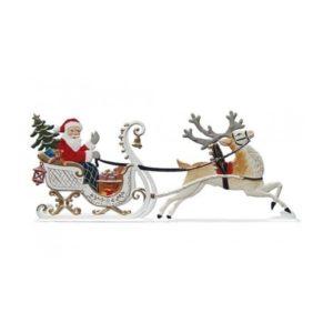 St. Nicholas in the sleigh