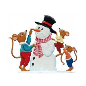 Mice build snowmaker