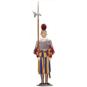 Swiss. Hellebarde armor
