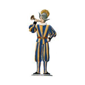 Swiss guard trumpeter