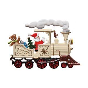 Locomotive with St. Nicholas