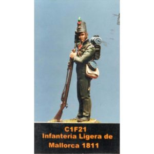 Infanteria Ligera de Mallorca 1811
