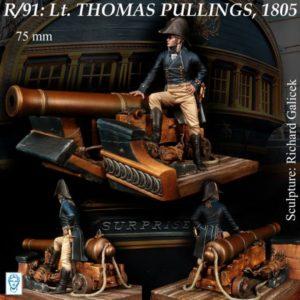 Lt. Thomas Pullings, 1805