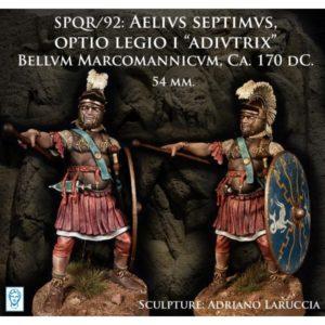 """Aelius Septimus, Optio Legio I """"Adiutrix"""". Bellum Marcomannicum, Ca. 170 DC"""