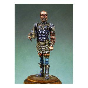 Carlos V en armadura de romano