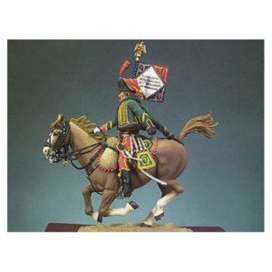 Portaestandarte de Húsares - Las Guerras Napoleónicas