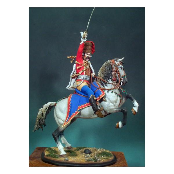 Oficial Hussar prusiano (1762) - Clásicos en 90mm