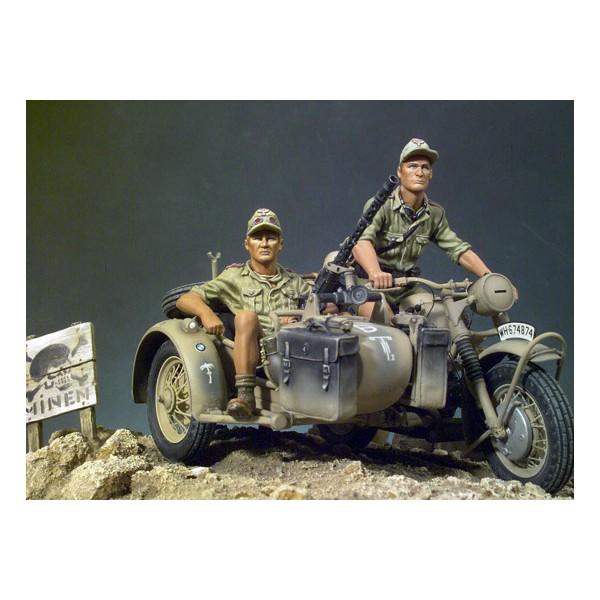 Afrikakorps BMW-R75 - Clásicos en 90mm