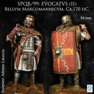 EVOCATVS(II) Bellvm Marcomannicvm, Ca.170 dC.