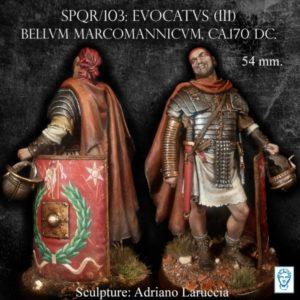 Evocatus (III), Bellum Marcomannicum, ca. 170 DC