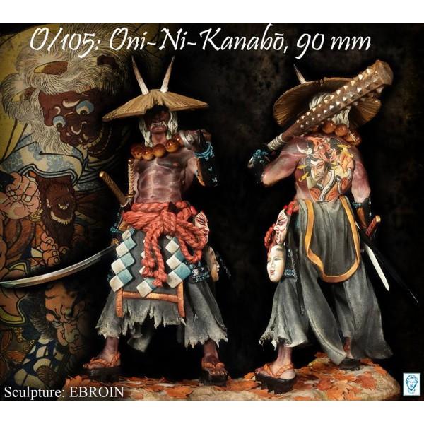 Oni-ni-kanabō (Oni, Japanese demon)