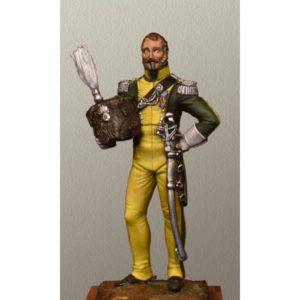 Colonel du 2ème Rgt. de chevau-légers de ligne du Royaume de Naples 1813