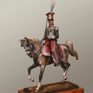 Chevau-légers de la garde du Royaume de Naples 1813 - Colonel François Wolff