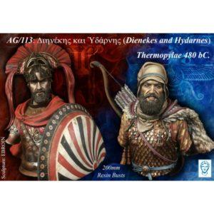 Dienekes and Hydarnes, Thermopylae, 480 bC.