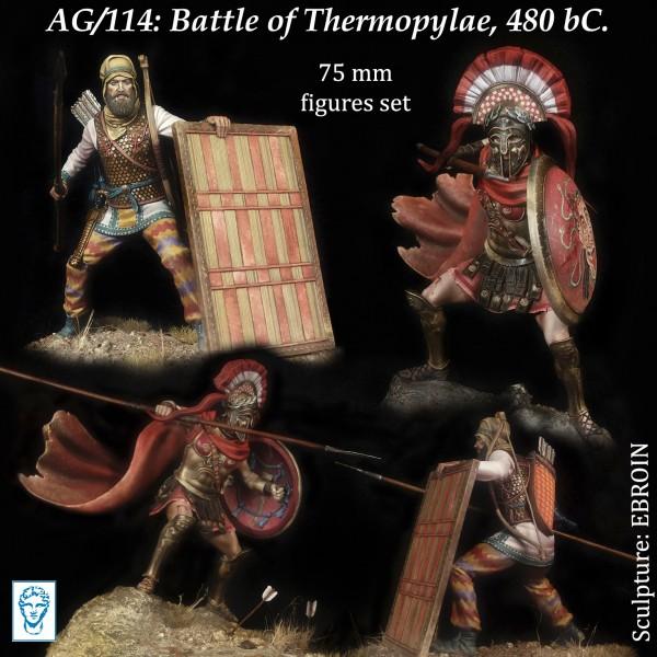 Battle of Thermopylae, 480 bC.